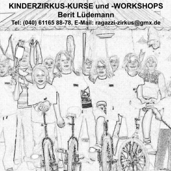 KINDERZIRKUS-KURSE und -WORKSHOPS