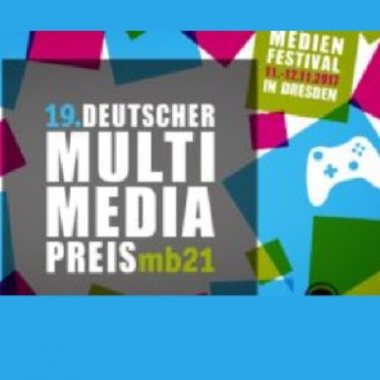 Bis 06.08.2017: Deutscher Multimediapreis mb21